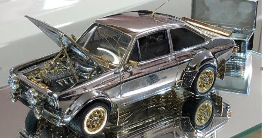La maqueta que Ford sacó a subasta