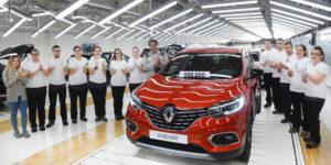 La factoría de Palencia celebra el Kadjar 500.000