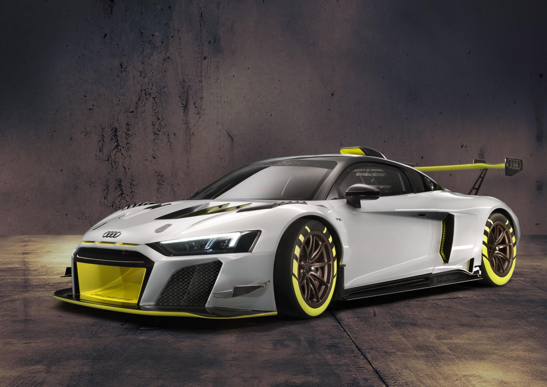 El R8 coche de competición de Audi