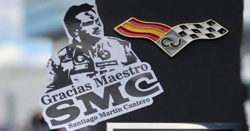 Homenaje a Santiago Martín Cantero