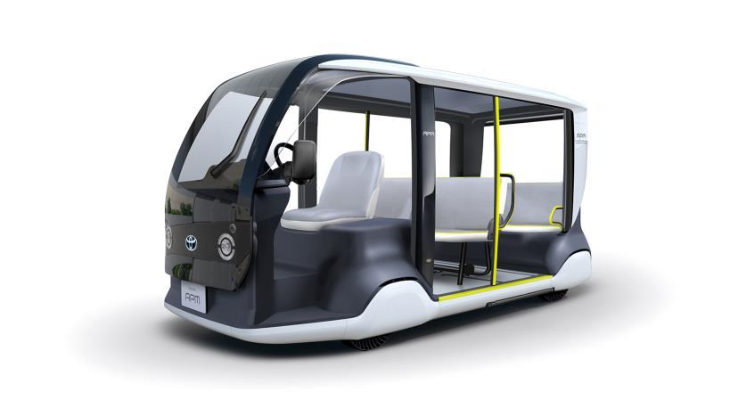 El vehículo adaptado de Toyota