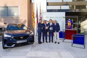 Cupra socio de movilidad del FC Barcelona