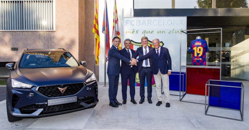 Cupra socio de movilidad del Barça