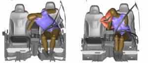 Hyundai ha desarrollado un airbag lateral central.