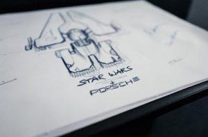 Porsche y Lucas Films colaboran en Star Wars