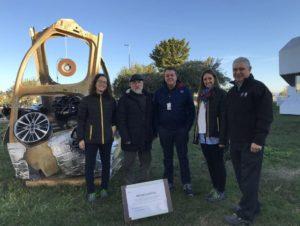 La escultura de residuos de la factoría de Figueruelas