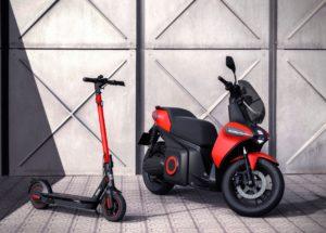 La moto eléctrica de Seat