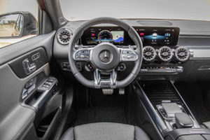 Interior del Mercedes-Benz GLB