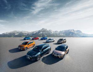 La gama completa de coches Seat