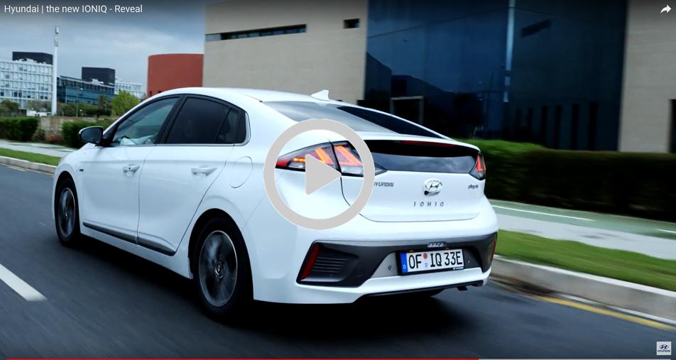Uno de los modelos de Hyundai Ioniq eléctrico
