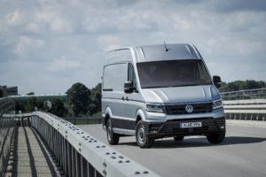 El modelo Crafter es uno de los que tiene más éxito en Volkswagen Vehículos Comerciales