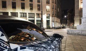 Imagen lateral del Maserati MC20