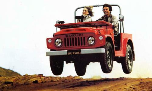 Uno de los primeros modelos tracción total de Suzuki.